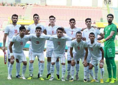ترکیب تیم امید تعیین شد، نیمکت نشینی قائدی در بازی با کره جنوبی