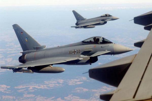 رزمایش هوایی 3 کشور اروپایی علیه روسیه