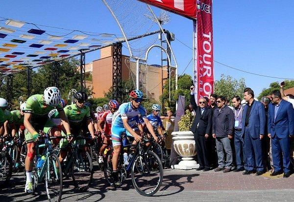 سی و سومین دوره تور دوچرخه سواری ایران- آذربایجان آغاز شد