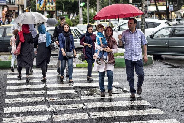 بارش های پاییزی در ایلام از اواخر مهرماه شروع می گردد