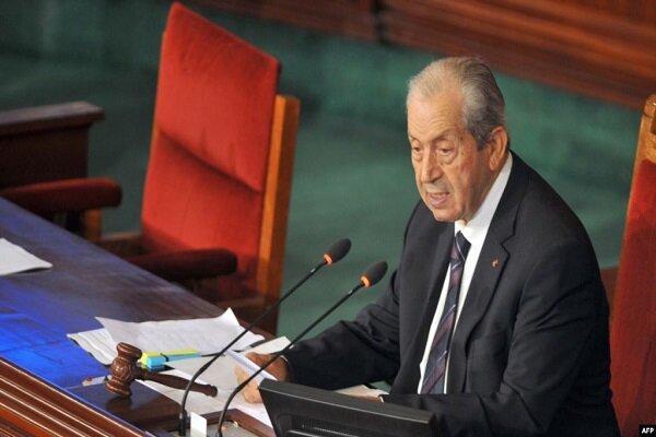 محمد الناصر رئیس جمهور موقت تونس شد