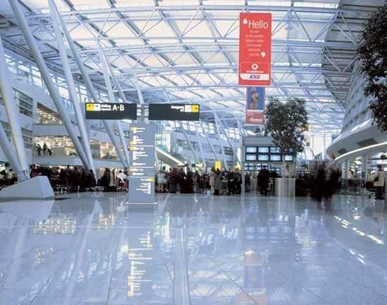 با فرودگاه بین المللی دوسلدورف آشنا شوید